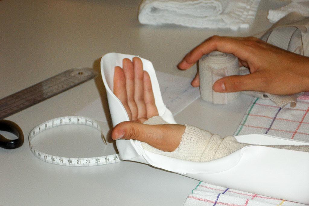 Illustration zum Handtherapie Sehnenkurs